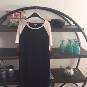 LulaRoe Julia Raglan Dress